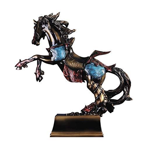 WYBFZTT-188 - Statua greca di Pegasus – Scultura a cavallo volante in bronzo pressofuso a freddo – da collezione