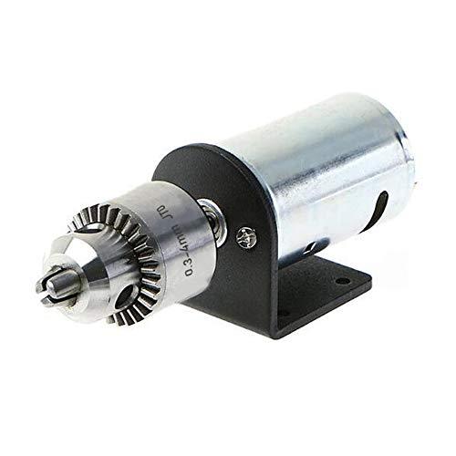 KKmoon DC 12V-36V Drehmaschine 555 Motor mit Miniatur Handbohrfutter und Montagewerkzeug Set