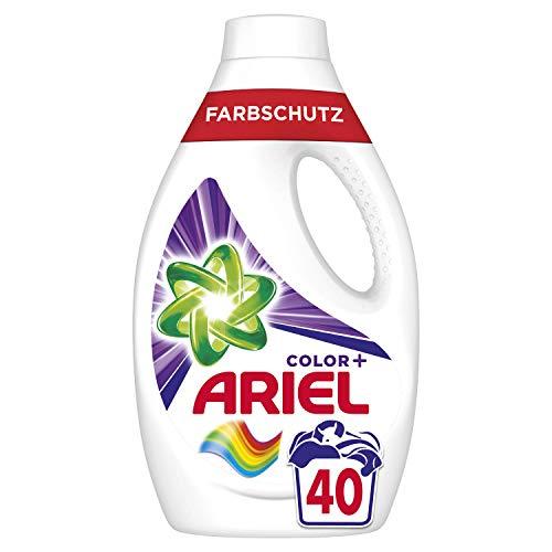Ariel Waschmittel Flüssig, Flüssigwaschmittel, Color Waschmittel, Farbschutz, 40 Waschladungen (2.2 L)