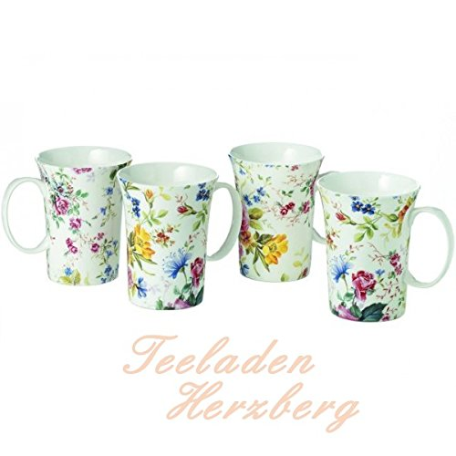 Cha Cult Becher Mariechen 0,3l - 4er Set Bone China