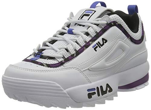 FILA Disruptor A wmn zapatilla Mujer, blanco (White/Sparkling Grape), 37 EU