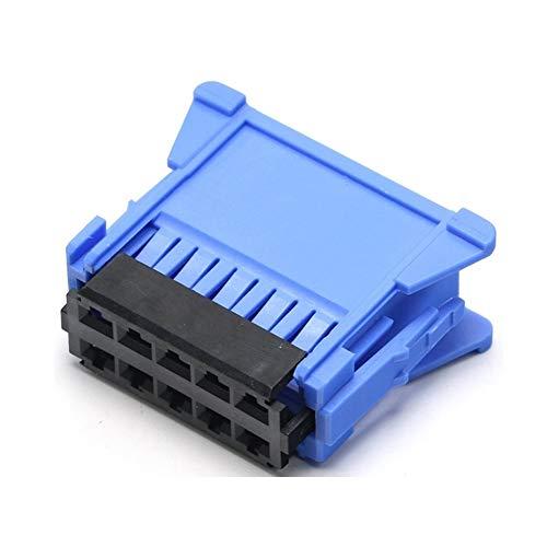 XIANGBAO QI 5pcs Conjunto del Conector Hembra de alojamiento de Clavijas 10 Sensor Azul Camino