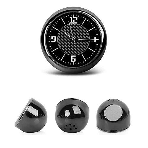 Alarmclocker Mini Auto interne Paste Digitaluhr mechanische Quarzuhr Auto Uhr leuchtende Auto Styling Zubehör Geschenk-Mercedes-Benz
