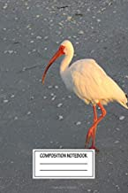 Composition Notebook: Animals Morning Walk Birds Wide Ruled Note Book, Diary, Planner, Journal for Writing