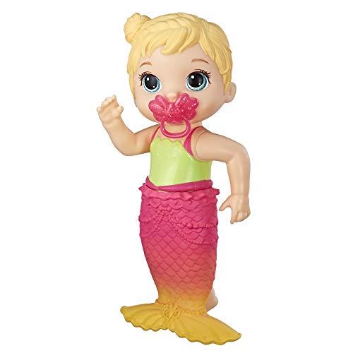 Baby Alive E5850ES1 BA Lil Mermaid BLD, Multicolour