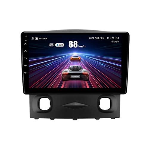 YLCCC coche Radio Stéreo Android 10.0 Sat nav Para Escape 2007-2012 GPS Navegación Multimedia Player Pantalla Táctil Soporte 4G+Wifi/SWC/Carplay/Bluetooth/DSP/enlace espejo,8 Core 4G+WiFi: 3+32GB