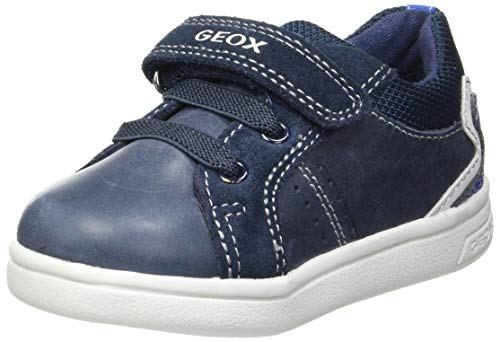 Geox Baby-Jungen B DJROCK Boy A Sneaker, Navy/ROYAL, 23 EU