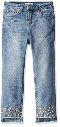 7 For All Mankind Mädchen The Edie Stretch Denim Jen Jeans, Vintage Flora, 6X