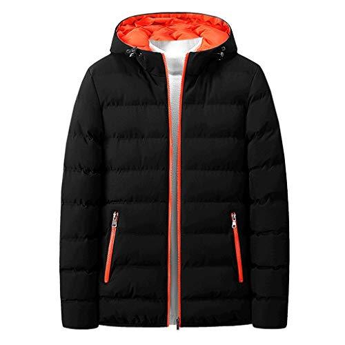 Bumen Hoodie Herren Casual solid Herren Mantel Long Sleeve Kapuzenpullover Mode Herbst-Winter Slim Winddichte Outdoor Jacke Herren Pullover...