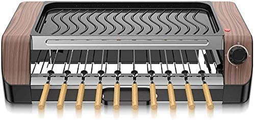 Barbecue Plate Barbecue Machine teppanyaki Automatische Rotary Barbecue Grill Spies Household rookvrije non-stick Barbecue Grill