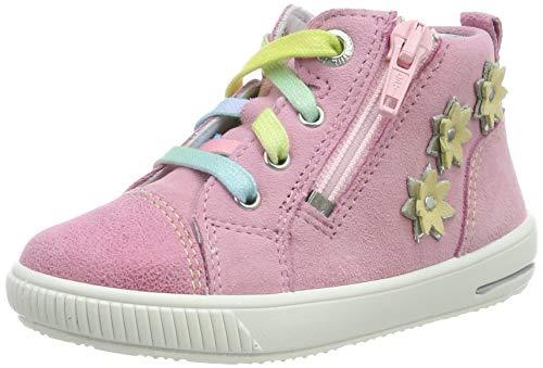 Superfit Mädchen Moppy Sneaker, Pink (Rosa 55), 23 EU