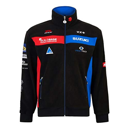 Suzuki BSB British Superbike Fleece Sweat Jacke (M)