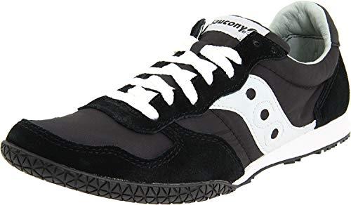 Saucony mens Bullet Sneaker , Black/Grey , 9.5 M US
