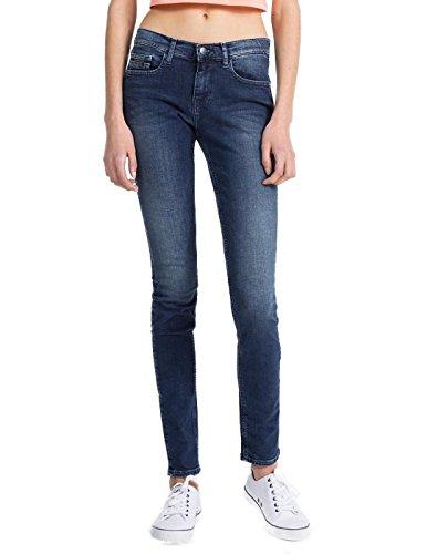 Calvin Klein Jeans Donna MR Skinny Highline Blu 30 Blue