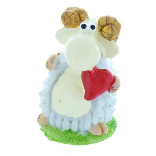 Générique Coeur d'amour Mini Moutons