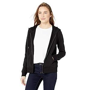 Women's  Cotton and Modal Full-Zip Hooded Sweatshirt