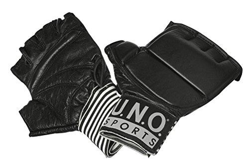 Best Sporting U.N.O. Ballhandschuh Black Combat, Größe S-XL, schwarz, Größe:S