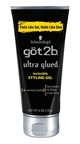 Got2b Ultra Glued Invincible Styling Hair Gel, 6...