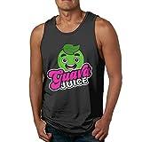 Mary West Zumo de Guayaba Camisas sin Mangas Confortables para Hombres Que absorben la Humedad Suave Camisetas sin Mangas