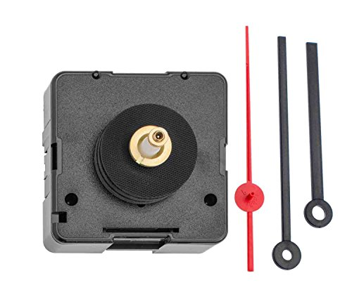 GLOREX 6 3033 8 Mouvement à Quartz avec Cadran 3 Aiguilles pour épaisseur, axe Demi-Cercle, Jeu, 4–7 mm