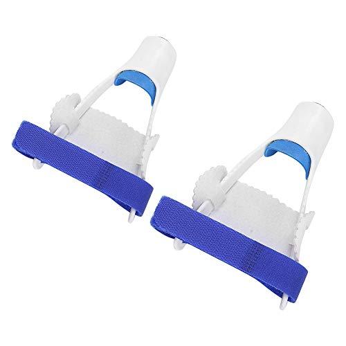 Verstellbare Ballenschienen, Blau-Weißer Zehenglätter für Den Alltag, Fußpflege für Plattfuß