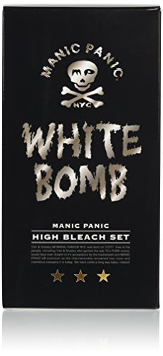 マニックパニック ホワイトボム ハイブリーチセット (ブリーチパウダー30g+オキシ6ml)(医薬部外品)