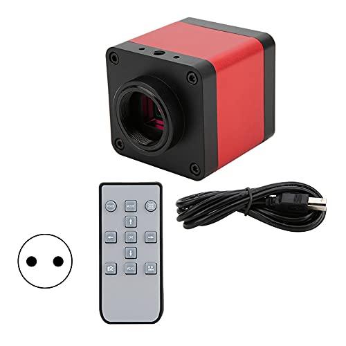 Full HD 1080P, lupas, accesorios para microscopio, cámara de microscopio, microscopio industrial electrónico para teléfono de soldadura(black)