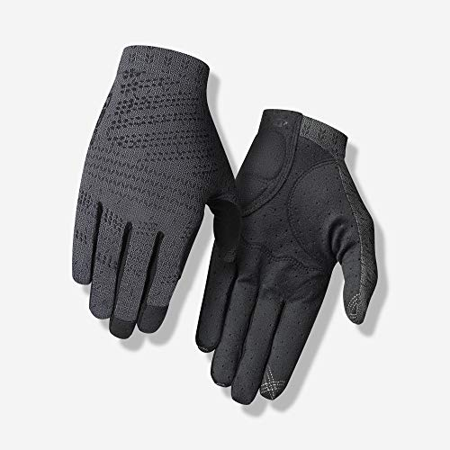 Giro Xnetic Trail Adult Mens Mountain Cycling Gloves - Coal (2020), Large