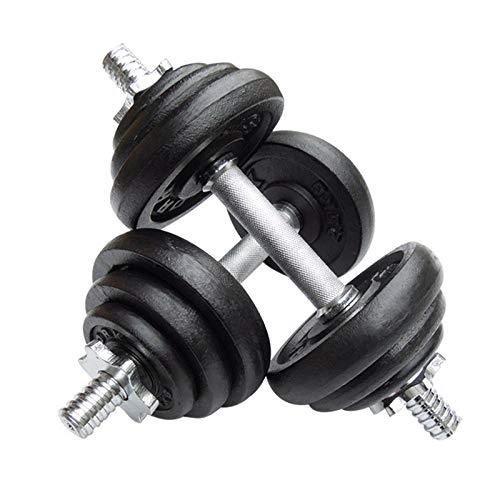 CANMALCHI Juego de pesas ajustables para hombre y mujer, 20 kg, color...