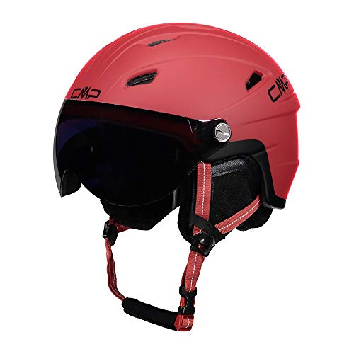 Cmp Casco Da Sci E Snowboard Wy-2, Unisex Bambini, Ferrari, S, Ferrari