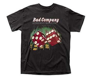 Impact Merchandising Bad Company Straight Shooter Adult tee  Medium  Black