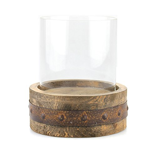 Rustic Decor Accents Candlestick Holder for Dining Table $12.95 (REG $26.99)