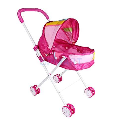 MMI-LX LYRONG cochecito de bebé recién nacido plegable con cesta y visera ajustable para niños