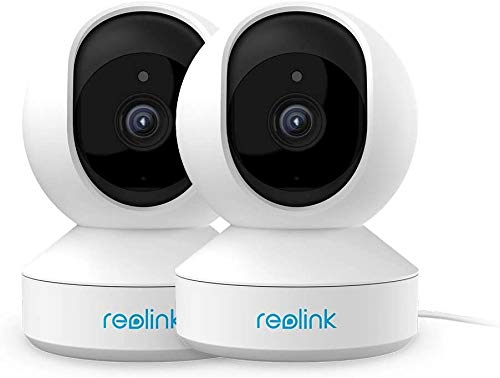 Indoor Security Camera, Reolink 4MP HD Plug-in WiFi Camera for Home Security, Dual-Band WiFi, Multiple Storage Options, Motion Alters, Night Vision, Ideal for Baby Monitor/Pet Camera E1 Pro(2 Pack) Cameras Dome