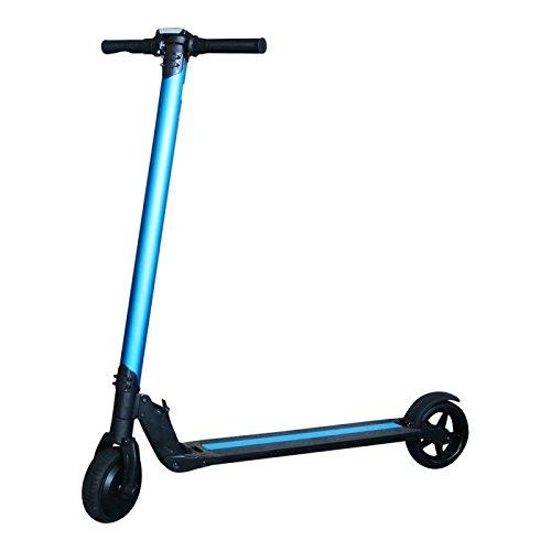 """Patiente eléctrico SmartGyro Viper Urban Blue - Patín Scooter eléctrico 6,5"""" (velocidad máxima 18 km/h, AUTONOMÍA hasta 20 km ,Batería de litio de 4.400 mAh 36V)"""