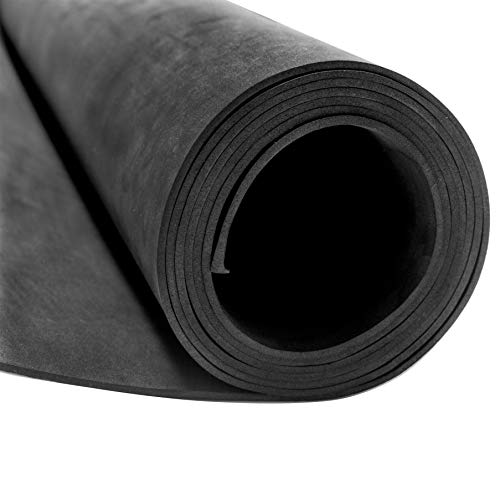 YZH EVA Foam Roll, Black, Cosplay Model, DIY Handmade Crafts Black Color, Thickness 2mm, Size 35' x 60' Roll