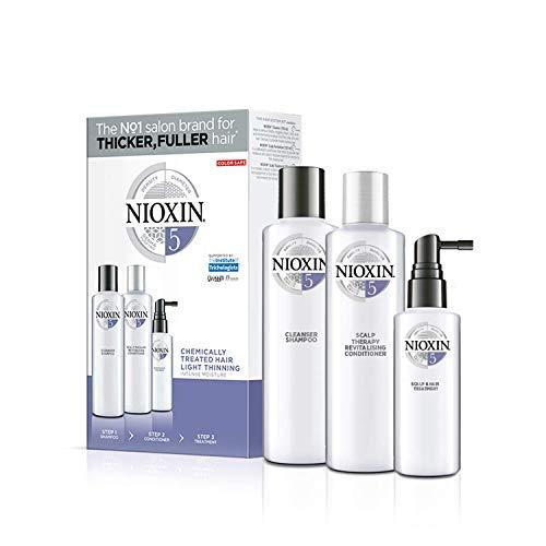Nioxin System 5 Starter Set - für chemisch behandeltes Haar, 350 ml