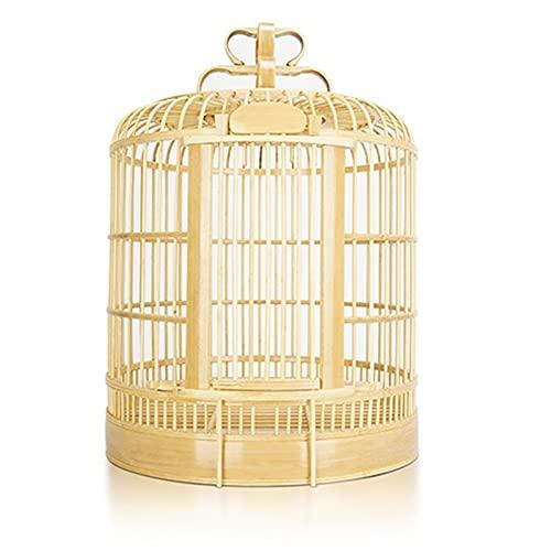 JKXWX Gabbia per Uccelli Bird Cage Thrush Cage Blu Bird Cage Geight Bird Cage Set Completo di Gabbie per Uccelli Boutique Authentic Handmade Mage Sichuan Cage Gabbia Voliera (Color : A)