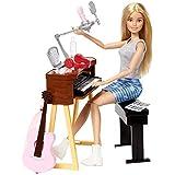 【Amazon.co.jp 限定】 バービー(Barbie) バービーとおしごと! ミュージシャンセット 【ドール アクセサリーセット】【関節が曲がる】【3才~】 FCP73