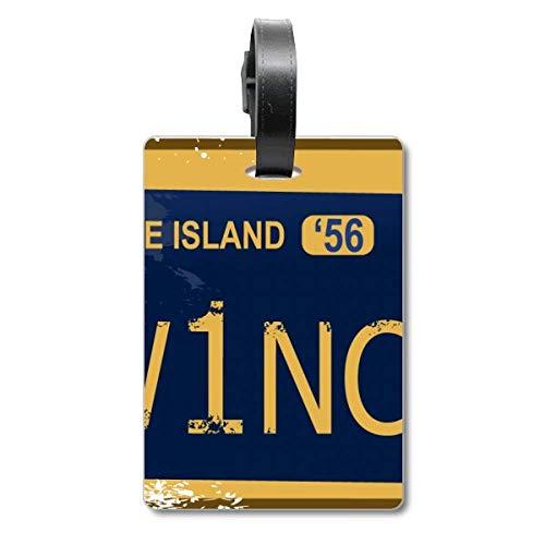 Nummernschild USA American Car Nummernschild Cruise Koffer Bag Tag Tourister Identification Label