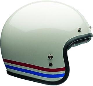 Capacete Bell Helmets Custom 500 Stripes Pearl Branco 58