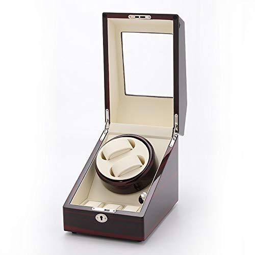 AXROAD MALL Reloj Doble Reloj mecánico automático Caja de bobinado Reloj de...