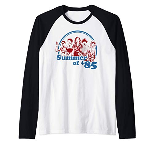 Netflix Stranger Things Summer Of '85 Group Shot Camiseta Ma