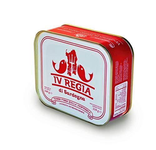 Ventresca di Tonno Pinne Gialle Kosher IV REGIA DI SARDEGNA in olio d'oliva 340g - Ottieni la spedizione GRATUITA con un acquisto di almeno 30€ di prodotti spediti da LE MAREVIGLIE