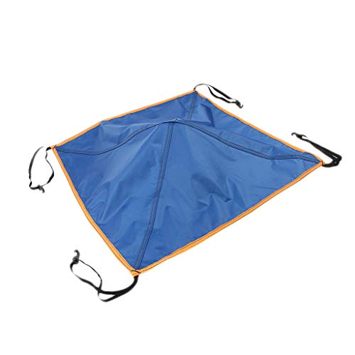 MagiDeal Outdoor Camping Replacement Tent Skylight Top Cap Rain Proof Protection Roof Vent Cover Top Canopy - Blue