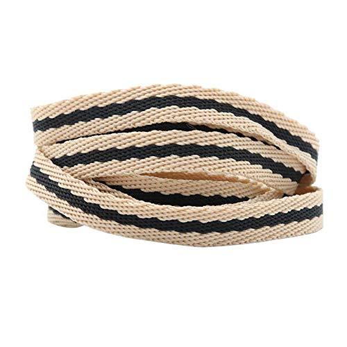 I Merletti di Pattino dei Merletti della Tela di Canapa delle Scarpe da Tennis Lacci Poliestere Tipo 1, 90cm