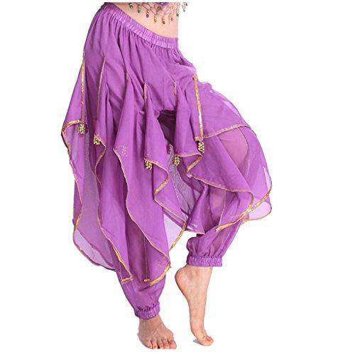 Best Dance, Bauchtanz-Pluderhose für Damen, Kostümhose