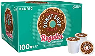 Medium roast   Caffeinated Coffee   100 K-Cup Pods   Extra bold