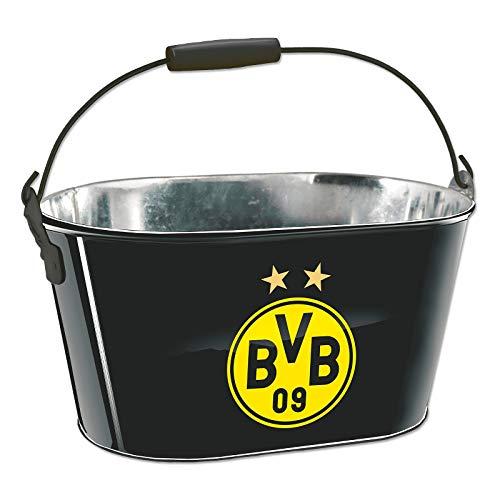 Borussia Dortmund BVB Fanartikel Flaschenträger, Eistonne, Blumenkübel mit Flaschenöffner
