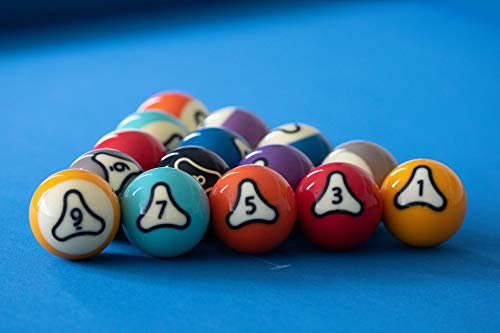 Dynasphere Platinum 2-1/4 in. Belgian Billiards Pool Balls Set w/Racks